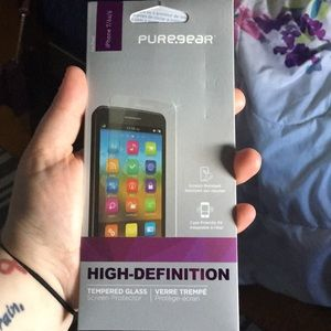 Pure.gear HD Tempered Glass screen protector